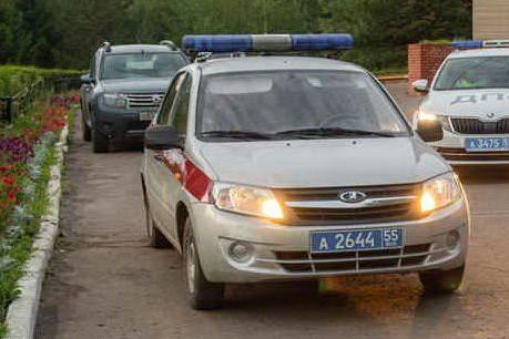 Polizia in Russia (Ansa)