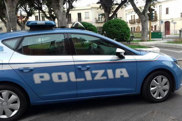 Polizia a Cagliari (Archivio L'Unione Sarda)
