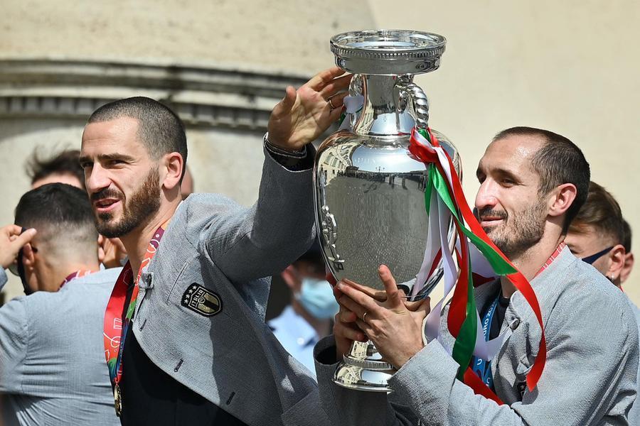 La coppia difensiva, Bonucci-Chiellini