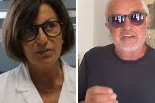 """Briatore contro la virologa Gismondo: """"In Sardegna non spende una lira"""""""