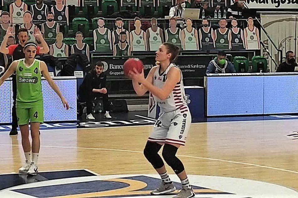 Michaela Fekete, top scorer (foto G. Marras)