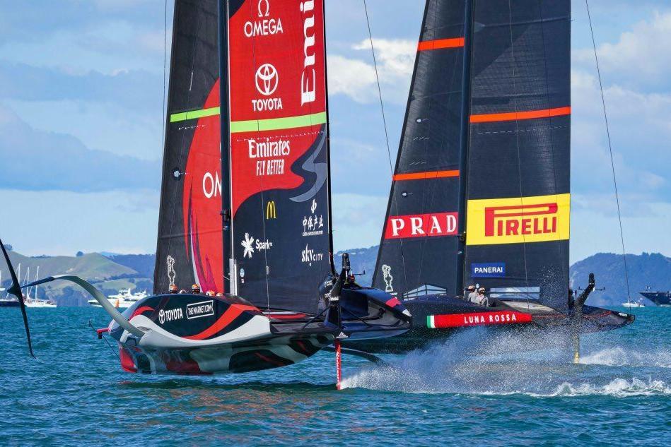 Coppa America: New Zealand vince gara 6, ora è 3-3 con Luna Rossa