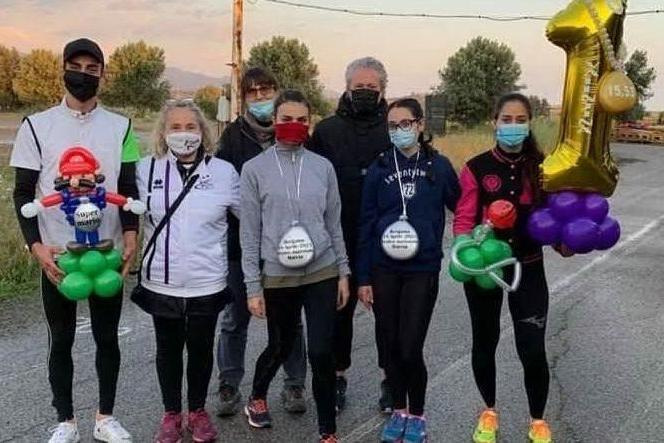 Maracalagonis, Valentina Pedditzi è prima nella tre chilometri di Bergamo