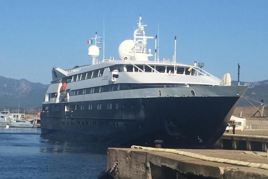 Al porto di Arbatax tornano le navi da crociera