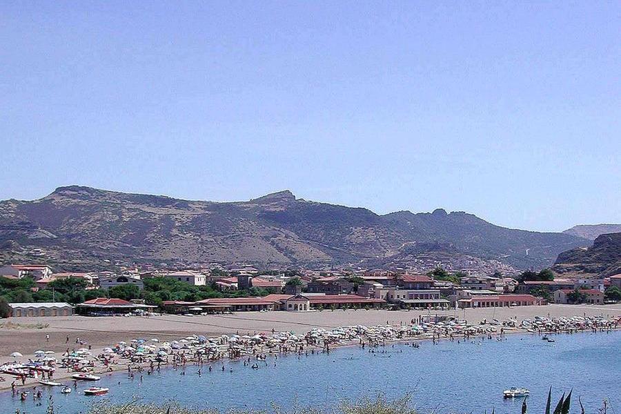 La spiaggia di Bosa Marina (Archivio L'Unione Sarda)