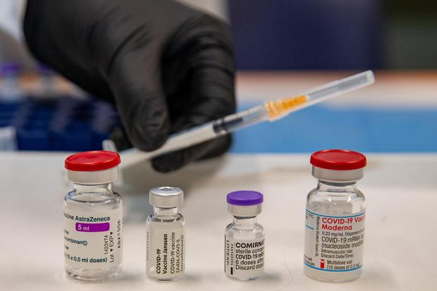 I vaccini anti Covid (foto Ansa)