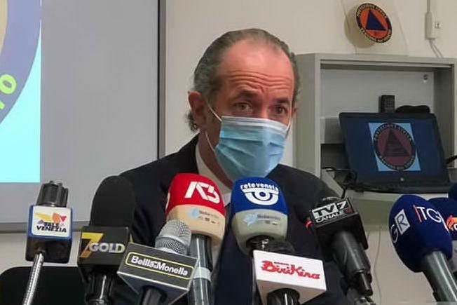 """Zaia anticipa il governo: """"Da sabato vietato uscire dal proprio Comune dopo le 14"""""""