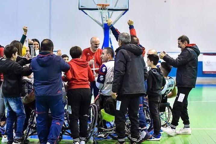"""Basket in carrozzina, Porto Torres riparte dai suoi """"cinque mori"""""""