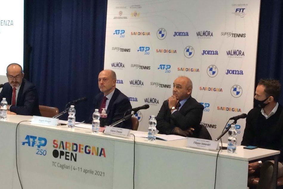 Tennis, presentato il torneo ATP 250 di Cagliari
