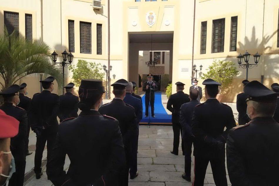 A Cagliari la visita del Generale di Corpo d'Armata dei carabinieri Carmelo Burgio