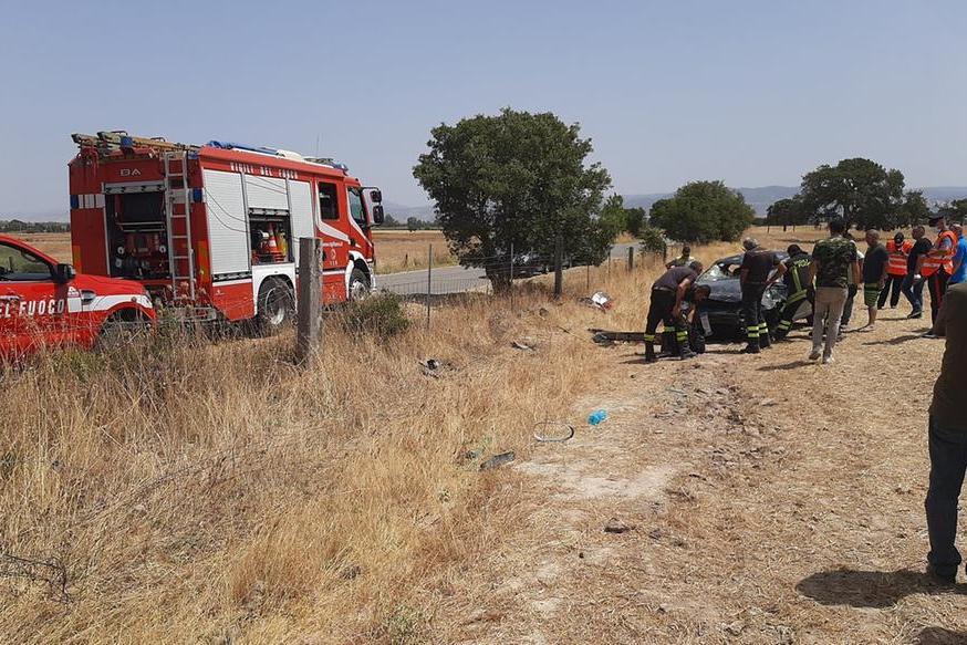 Il luogo dell'incidente (Foto concessa)