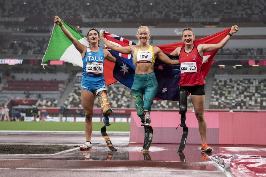 Martina Caironi argento nel salto in lungo (Ansa - Leanza)