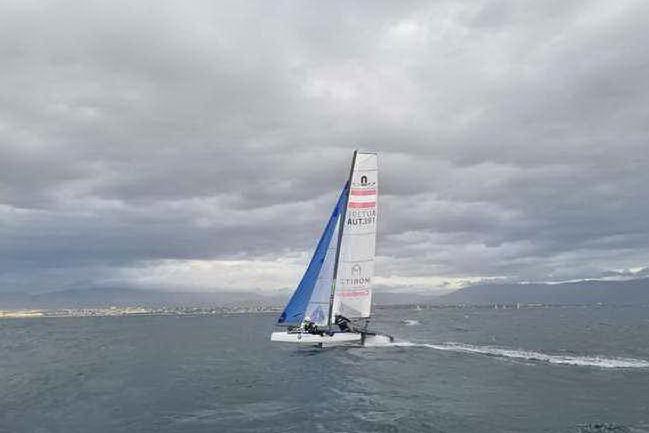 Le squadre olimpiche straniere di vela si allenano a Cagliari