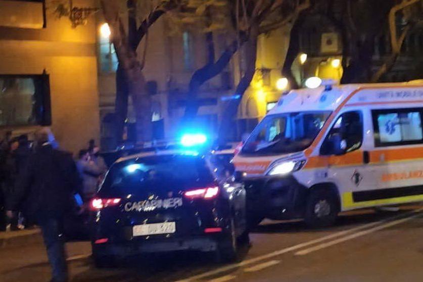 Cagliari, folle fuga dai carabinieri: due feriti e quattro fermati