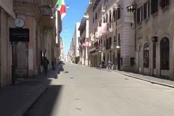 """Roma in zona rossa """"torna"""" a un anno fa"""