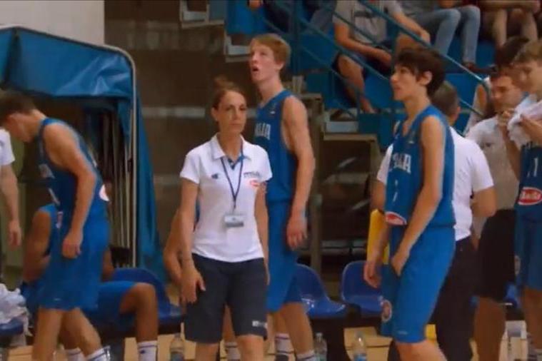 Nunzia Serradimigni è team manager della Federatzione Isport Natzionale Sardu