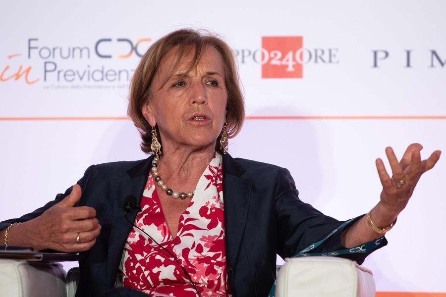 L'ex ministro Elsa Fornero (Ansa)