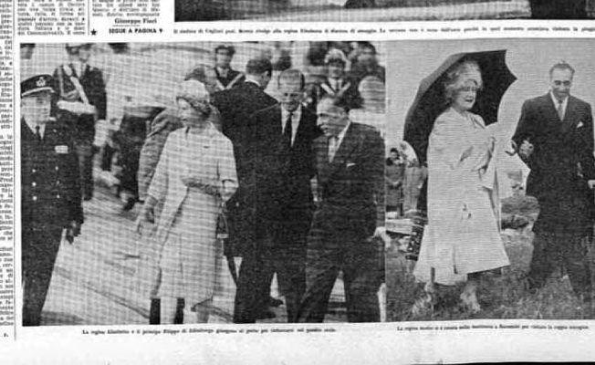 La prima pagina dell'Unione Sarda del 30 aprile 1961