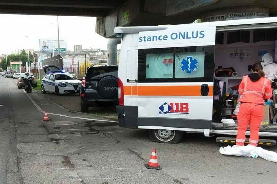 Cagliari: ambulanza con un paziente a bordo coinvolta in un incidente
