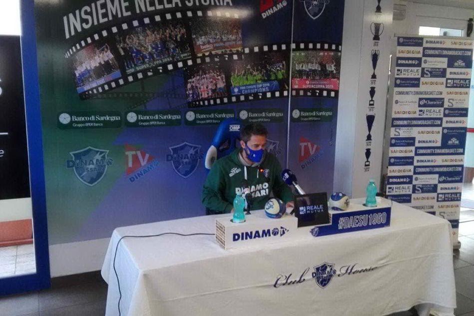 """Dinamo a Trieste contro la bestia nera, Pozzecco: """"Squadra solida"""""""