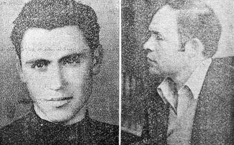 I banditi uccisi a Sa Janna Bassa: Francesco Masala e Mario Bitti