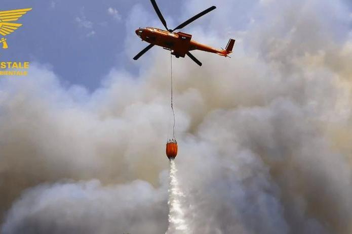 Altri 18 incendi in Sardegna, più di 17 ettari in fumo