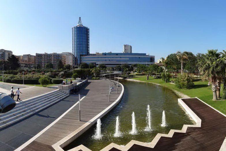 Il Parco della Musica a Cagliari