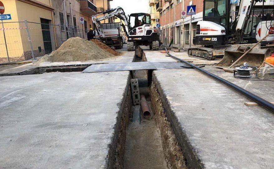 Un cantiere per la metanizzazione (Ufficio Stampa Regione Sardegna)