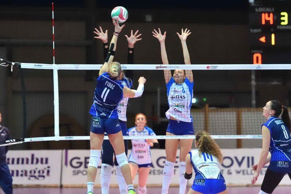 Volley, l'Hermaea perde la battaglia: a Torino Olbia sconfitta 3-0
