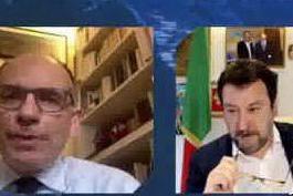 Letta-Salvini, botta-risposta su governo, Europa e Recovery
