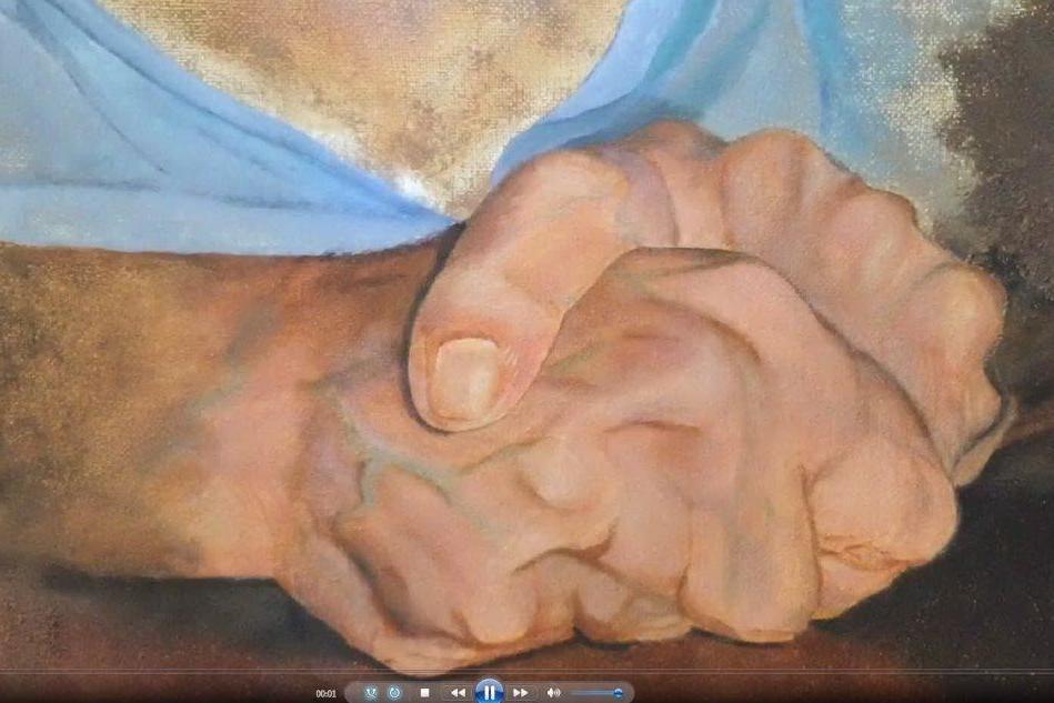 Le mani di Valeria Cau in mostra a Oristano