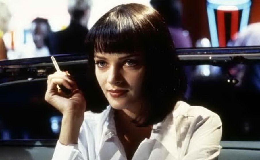 """Mia Wallace in \""""Pulp Fiction\"""""""