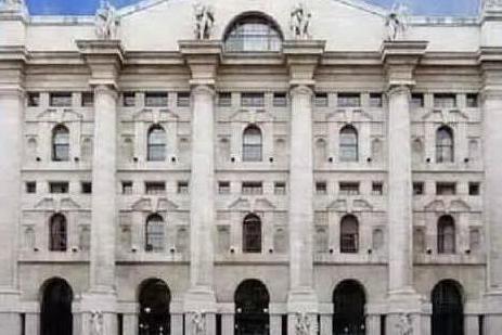 Piazza Affari (Archivio L'Unione Sarda)