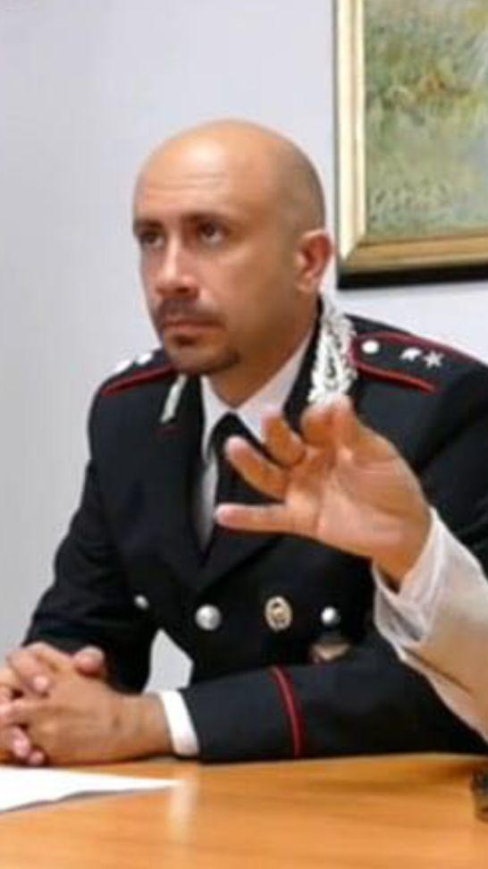 Il tenente Francesco Capula (foto carabinieri)
