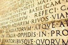 Un'iscrizione latina