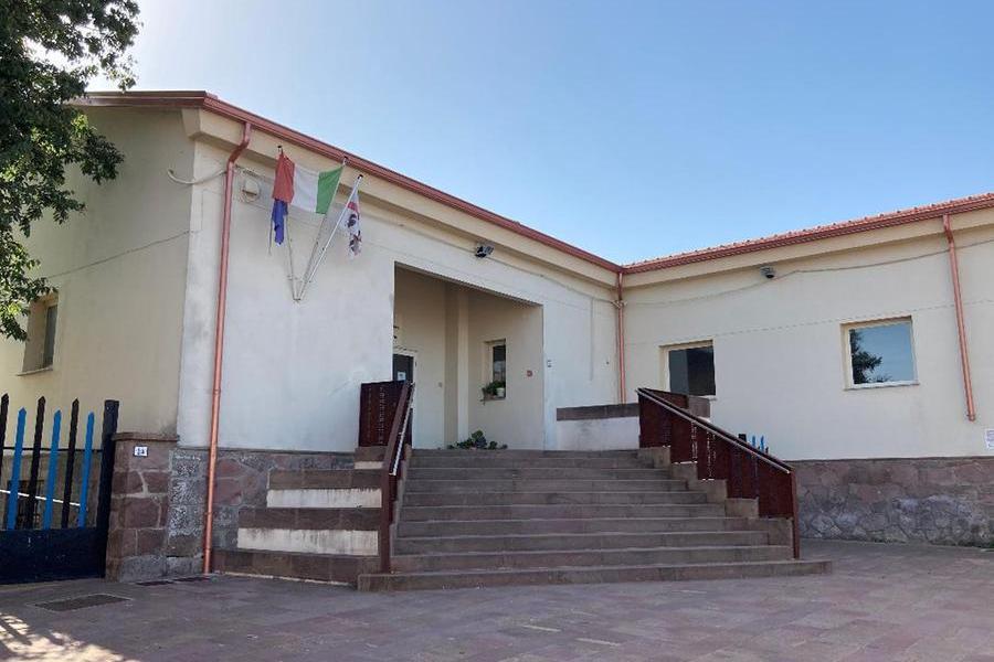 Le scuole a Neoneli (foto Orbana)