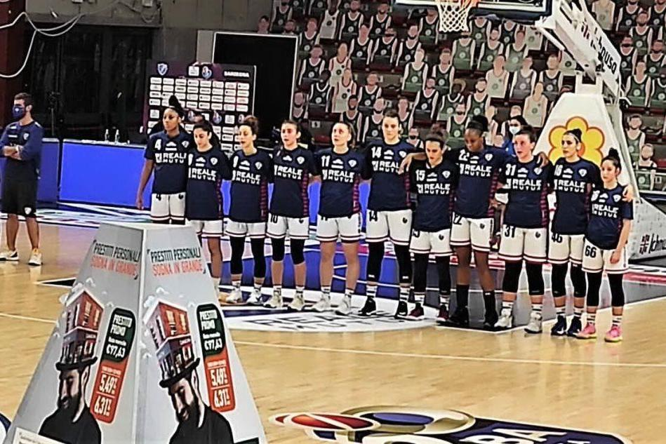 Basket femminile, la Dinamo perde a Campobasso 73-51