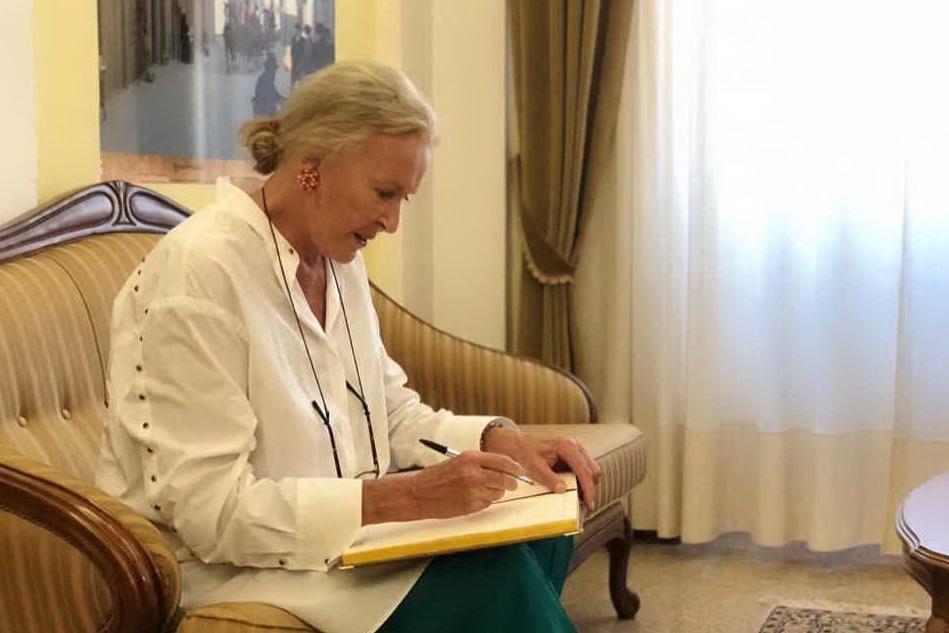 La principessa Maria Gabriella di Savoia visita la Gallura