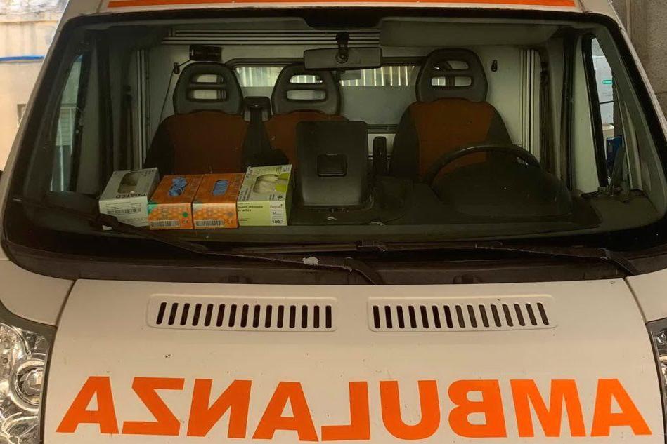L'ambulanza Mike 65 (foto concessa)