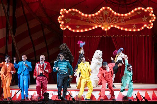 Un'immagine dallo spettacolo (foto Teatro Lirico @Tolu)