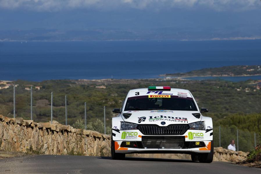 L'equipaggio Diomedi Turati (foto Francesco Morittu concessa da Ufficio Stampa Porto Cervo Racing)