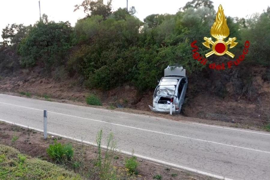 Fuori strada a Monticanaglia, una ragazza ferita