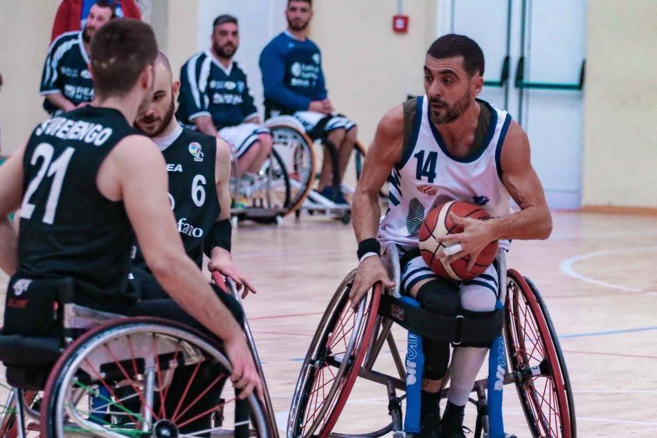Basket in carrozzina: la Dinamo Lab perde con i campioni italiani del S. Stefano 71-34