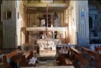 Tuili, al via l'intervento sul retablo della Pentecoste: parla la restauratrice