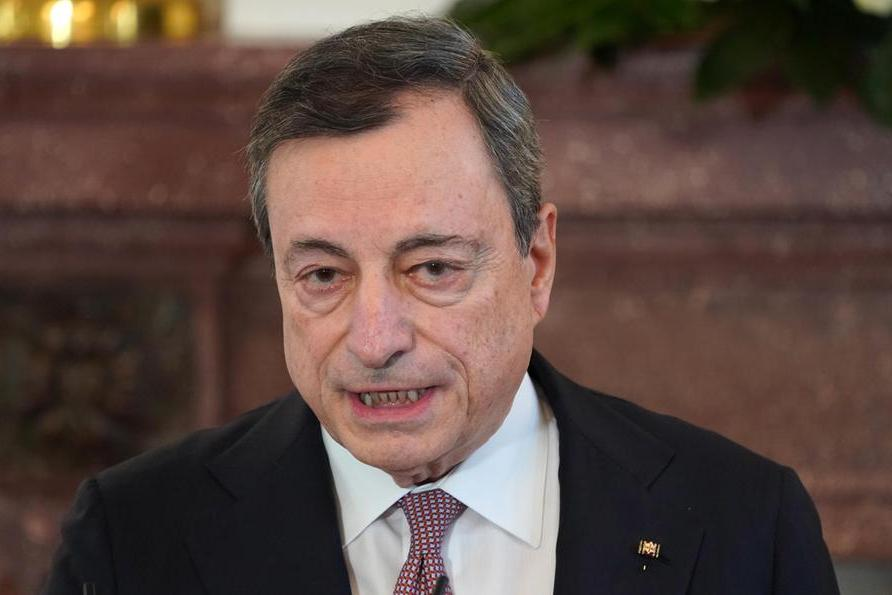 """Clima,Draghi: """"Non stiamo rispettando gli accordi di Parigi, rischiamo conseguenze catastrofiche"""""""