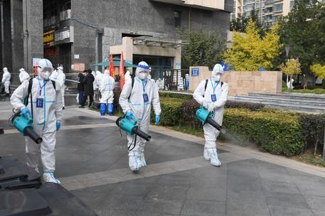 Allarme contagi in Cina, in lockdown la città di Lanzhou