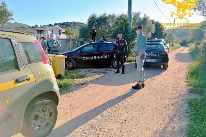 L'intervento delle forze dell'ordine