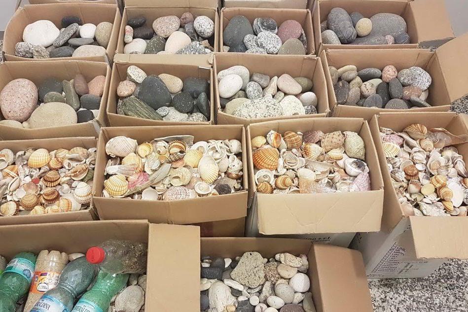 Annata record per i furti di sabbia