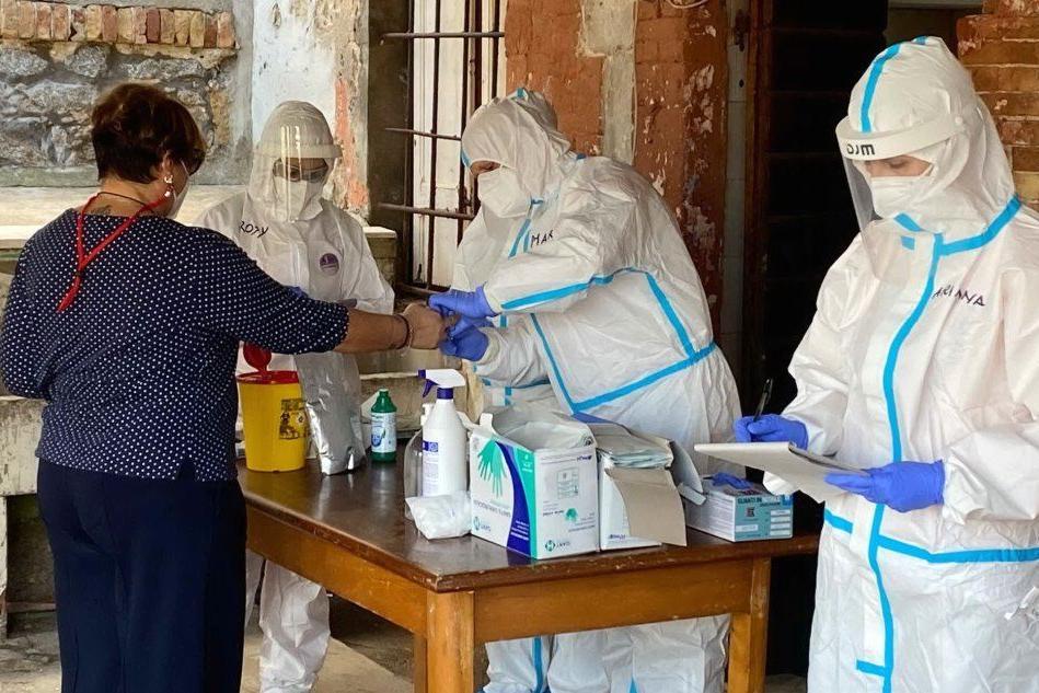 A La Maddalena lo screening per il coronavirus