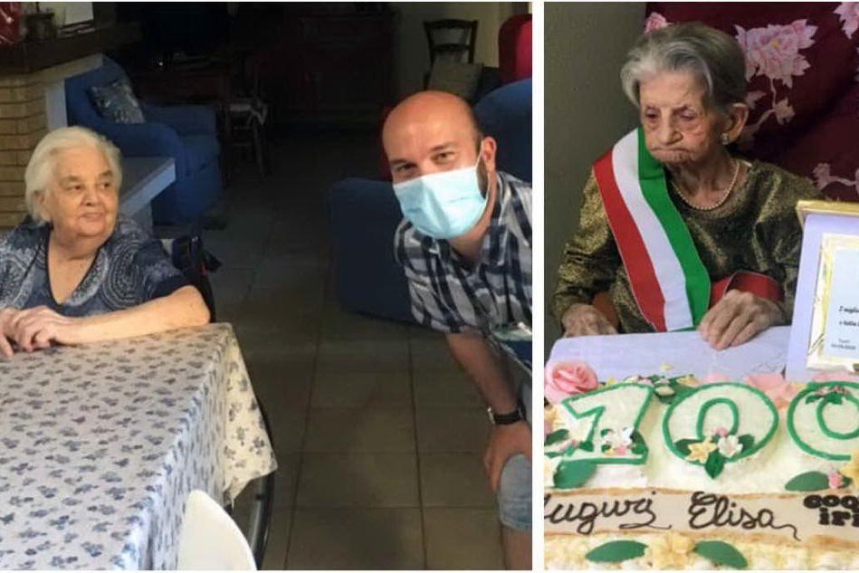 Turri festeggia le sue due centenarie, Amelia ed Elisa Mocci